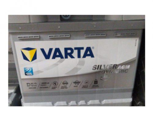 מצבר ורטה 60 אמפר סטארט סטופ AGM